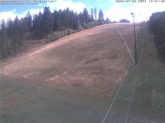 Webcam Skigebiet Oberwarmensteinach Talstation - Fichtelgebirge