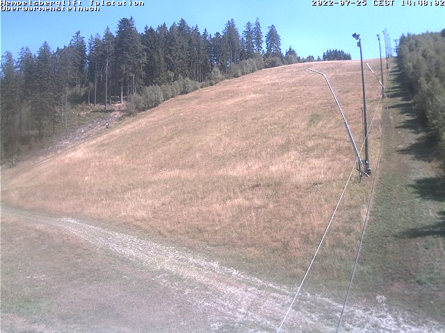 Webcam Skigebiet Oberwarmensteinach Talstation - Fichtelgebirge